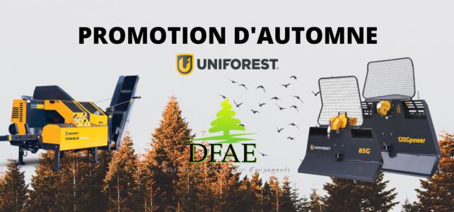 Promotion d'automne Uniforest
