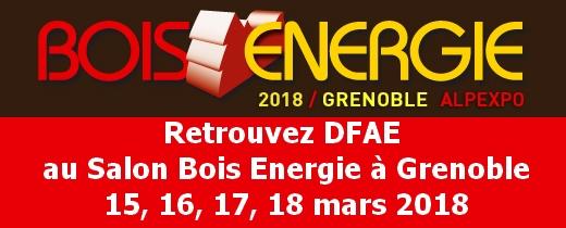 Salon Bois Energie Grenoble 2018